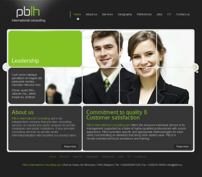 Results Oriented: Pblh Web Site